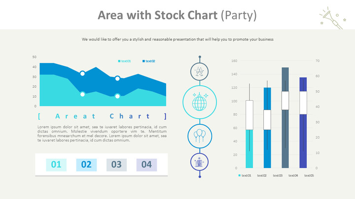 Area with Stock Chart (Party)_01