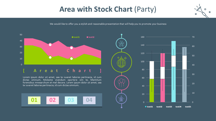 Area with Stock Chart (Party)_02