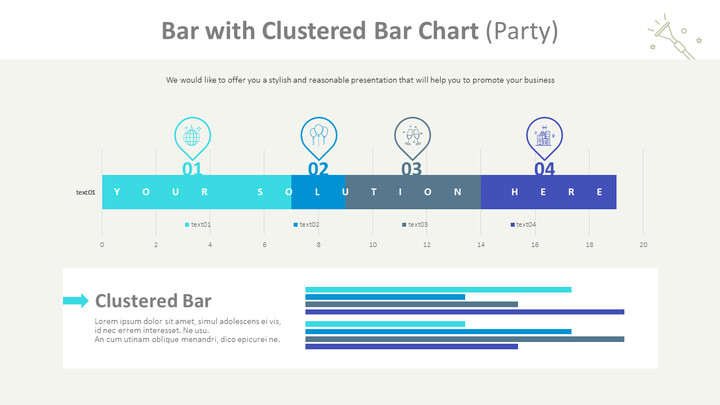 Bar with Clustered Bar Chart (Party)_01
