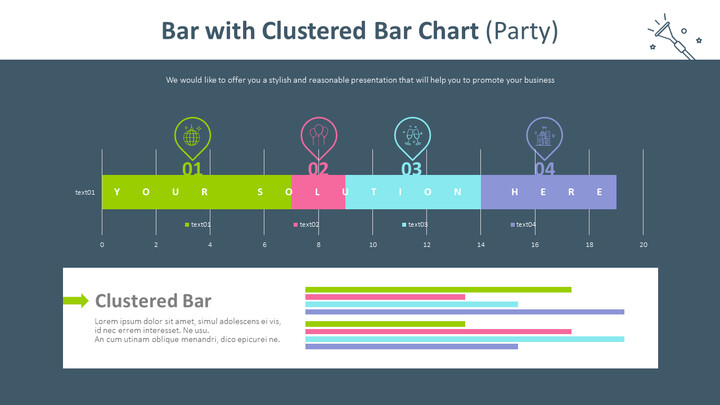 Bar with Clustered Bar Chart (Party)_02