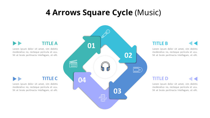 Circular Arrows Process Diagram (Music)_01