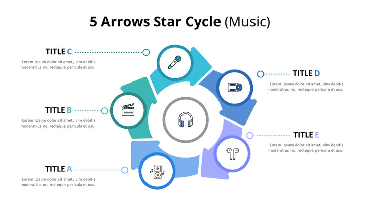 Circular Arrows Process Diagram (Music)_02