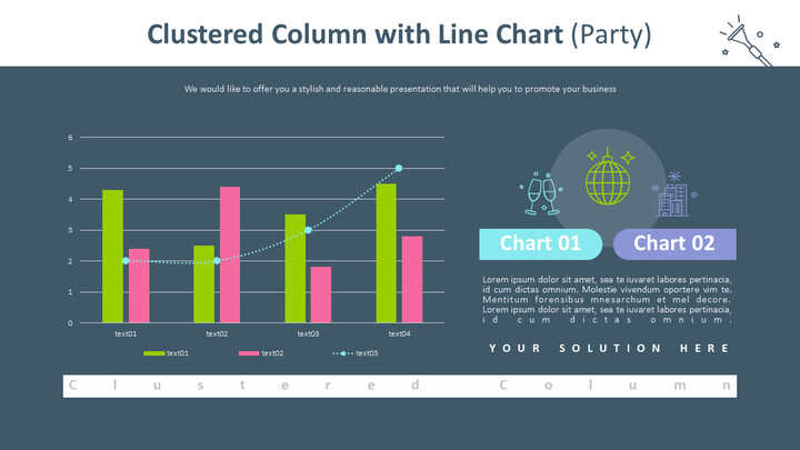 Clustered Column with Line Chart (Party)_02