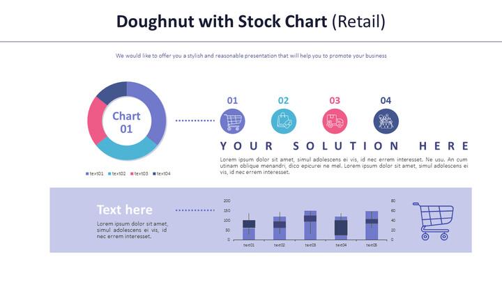 주식형 차트가있는 도넛 (소매)_01