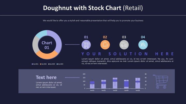 Doughnut with Stock Chart (Retail)_02