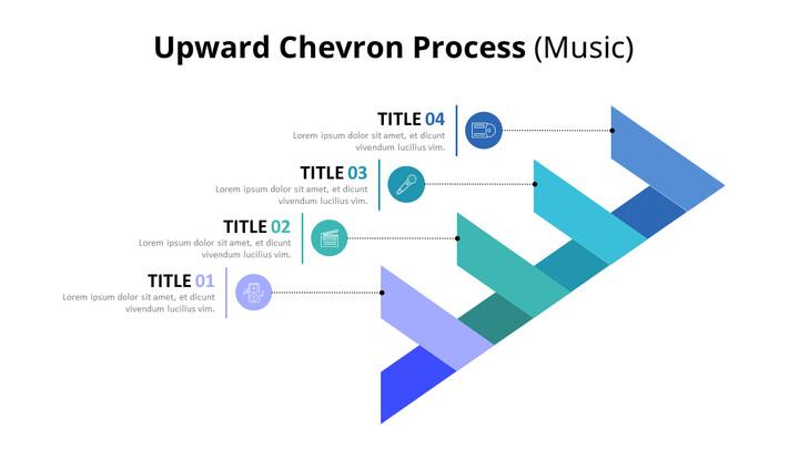 4 단계 쉐브론 프로세스 다이어그램 (음악)_02