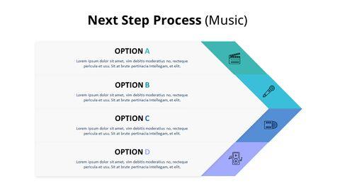4 단계 쉐브론 프로세스 다이어그램 (음악)_04