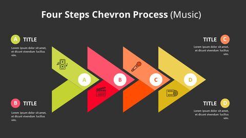 4 단계 쉐브론 프로세스 다이어그램 (음악)_05