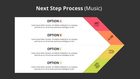 4 단계 쉐브론 프로세스 다이어그램 (음악)_08