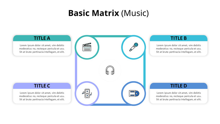 Matrix Infographic Diagram (Music)_01