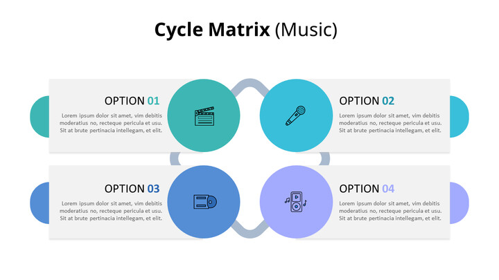 Matrix Infographic Diagram (Music)_02