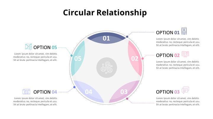 Pastel Tone Circular Relationship Diagram_02