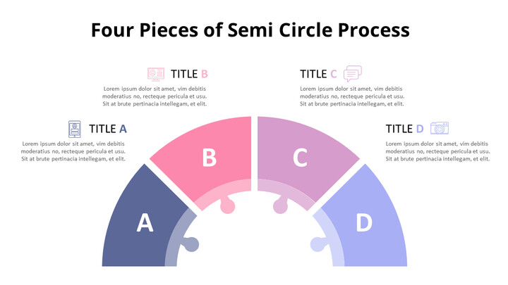 Pastel Tone Semi-Circle Process Puzzle Diagram_02