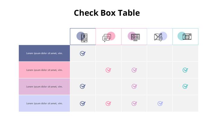 Pastel Tone Table Diagram Set_02