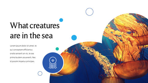 Sea Creatures Templates for PowerPoint_04