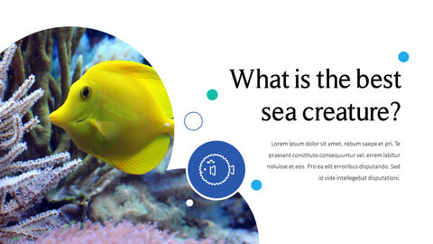 Sea Creatures Templates for PowerPoint_05