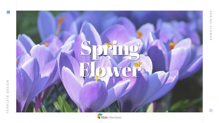 봄 꽃 비즈니스 사업 피피티_01