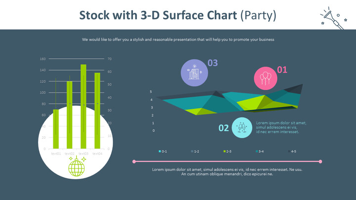 Stock with 3-D Surface Chart (Party)_02