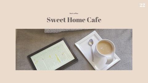 스위트 홈 카페 파워포인트 포맷_22