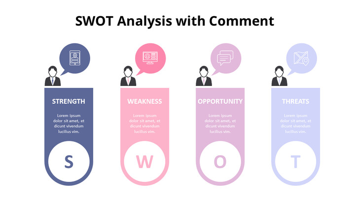 Vertical SWOT Analysis List Diagram_01