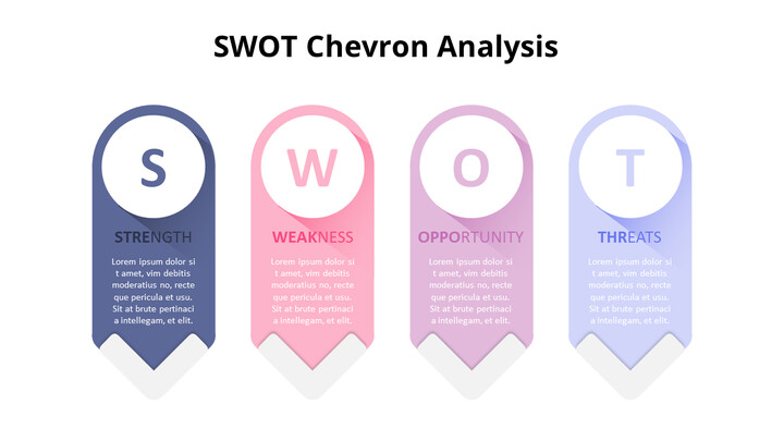 Vertical SWOT Analysis List Diagram_02