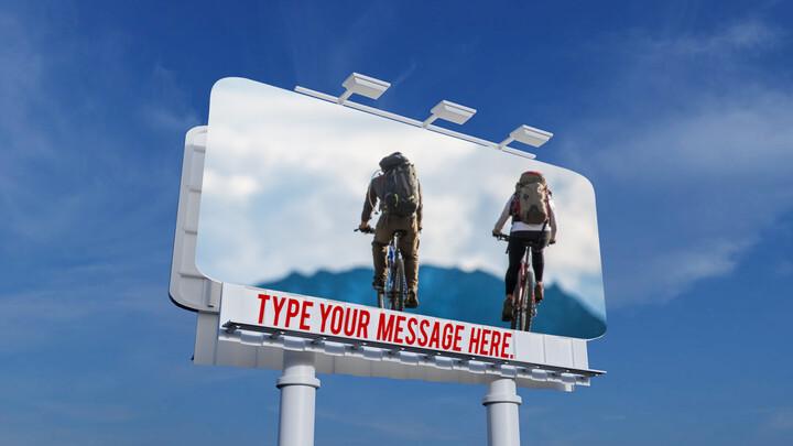Billboard Mockup PPT Templates Design_02