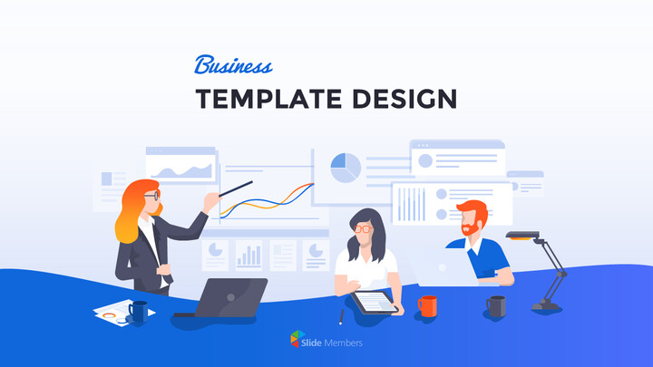 Business Template Design PowerPoint Format_01