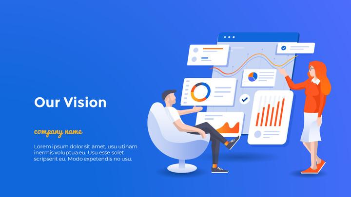 Business Template Design PowerPoint Format_02