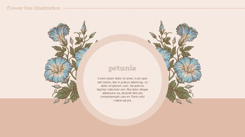 Flower Illustration premium PowerPoint Templates_04