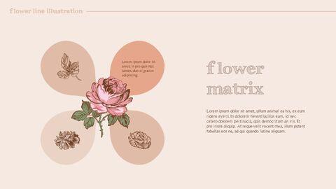 꽃 일러스트 프리미엄 파워포인트 템플릿_33
