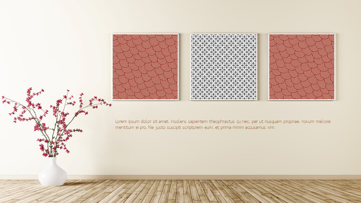 Mockup Art wall Templates Design_02