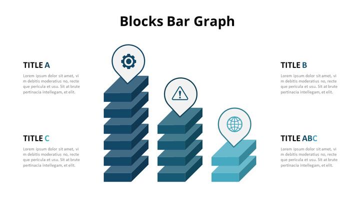 3D Bar Chart Infographic Diagram_01