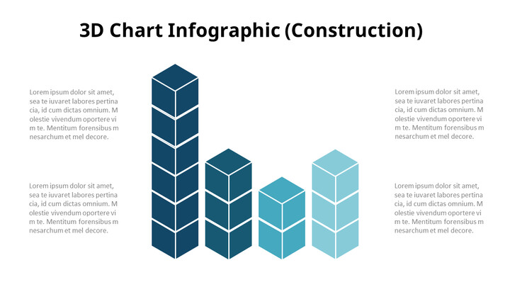 3D Bar Chart Infographic Diagram_02