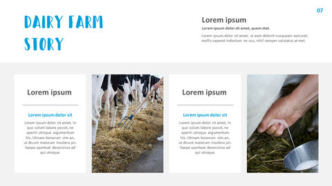 Dairy Farming Simple Templates Design_04