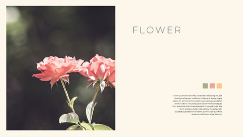 그린 & 봄 심플한 파워포인트 디자인_04