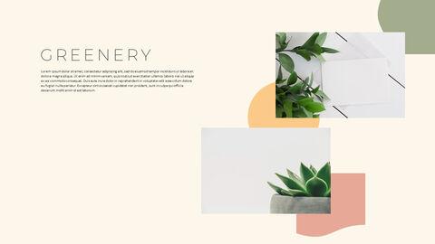 그린 & 봄 심플한 파워포인트 디자인_09