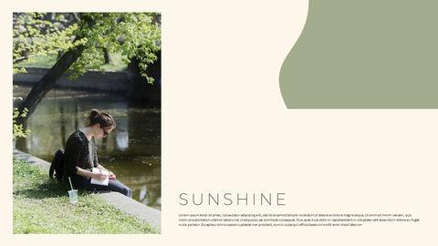 그린 & 봄 심플한 파워포인트 디자인_10