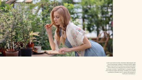 그린 & 봄 심플한 파워포인트 디자인_19