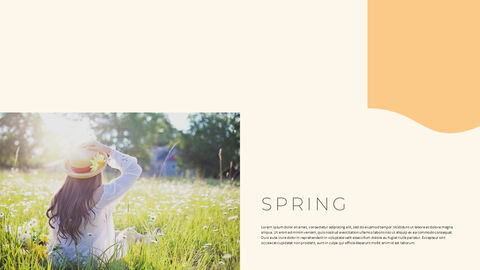 그린 & 봄 심플한 파워포인트 디자인_24