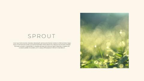 그린 & 봄 심플한 파워포인트 디자인_25
