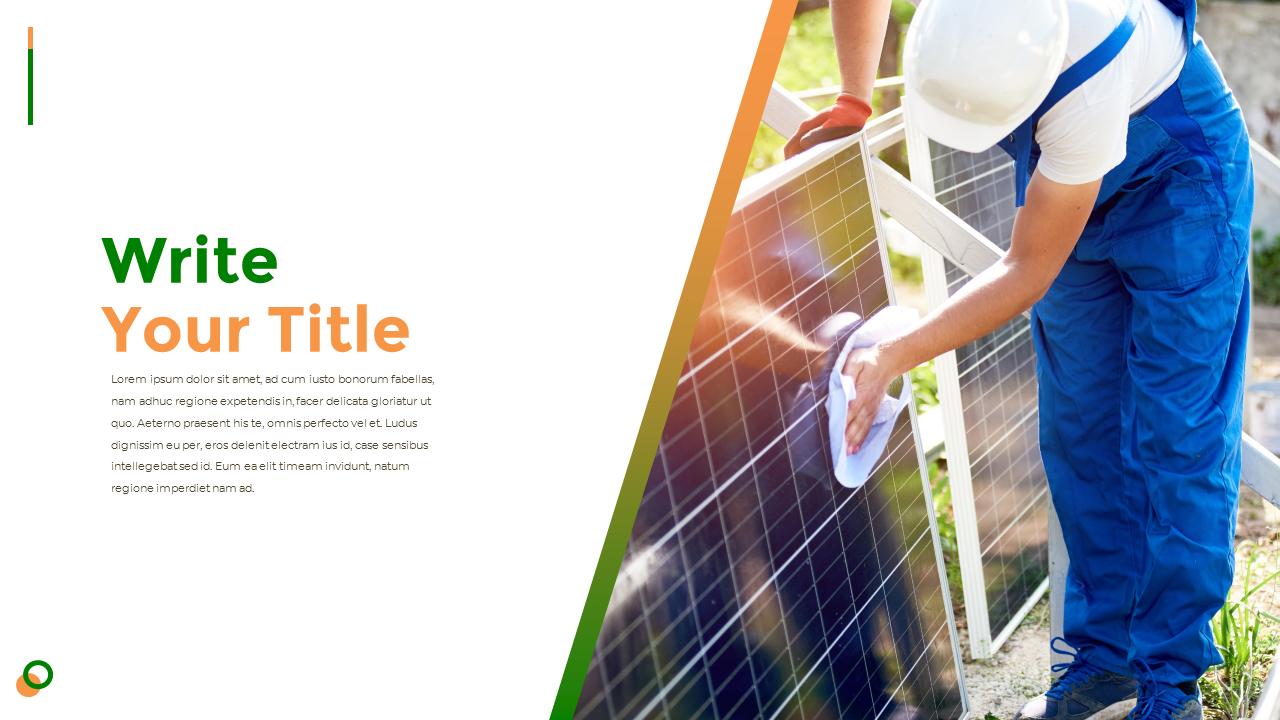Solar Energy Ppt Design
