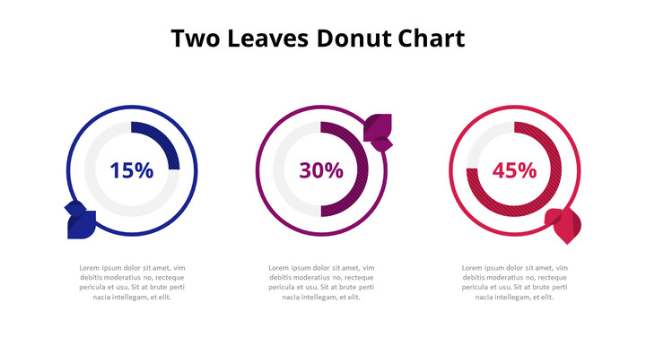 Three Steps Progress Doughnut Graph Chart Diagram_02