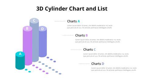 3D 실린더 기둥형 차트 다이어그램_05