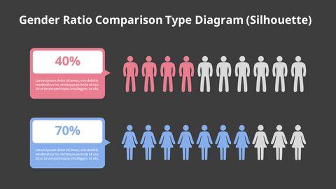 Horizontal Bar Chart Infographic Diagram_06