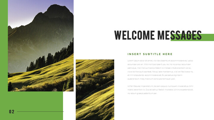 Mountain & Forest PowerPoint Templates for Presentation_02