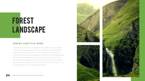 산과 숲 프레젠테이션용 PowerPoint 템플릿_02