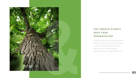 산과 숲 프레젠테이션용 PowerPoint 템플릿_03