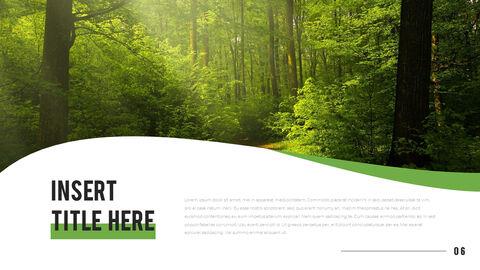 산과 숲 프레젠테이션용 PowerPoint 템플릿_06