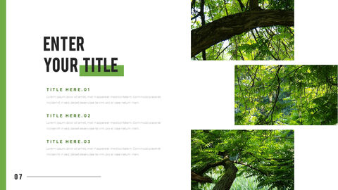Mountain & Forest PowerPoint Templates for Presentation_05
