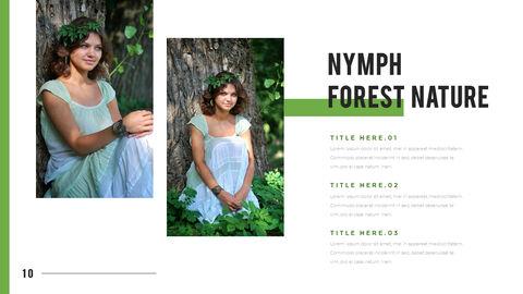 산과 숲 프레젠테이션용 PowerPoint 템플릿_10